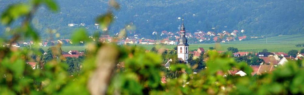 Das Weindorf Kirchheim in der Pfalz