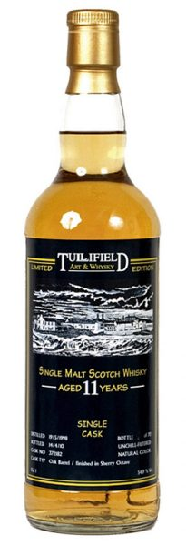 Bowmore 11y 98-10 DT for Tullifield Art & Whisky Sherry Oct. Fin. #372182 - 54,9%