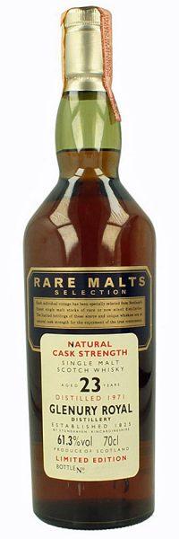 Glenury 23y 71-95 OB Rare Malts Selection - 61,3%