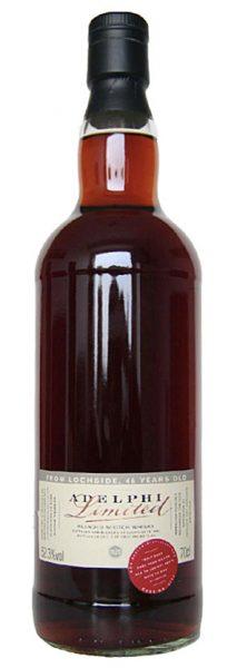 Lochside 46y 65-11 Adelphi Refill Sherry Bodega Butt #6778 499btl - 52,3%