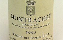 Etikett Montrachet Grand Cru