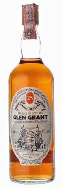 Glen Grant 25y ~1960er G&M Licensed Bottling 0,75L - 40%