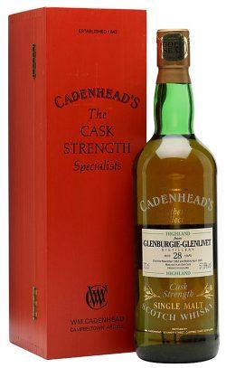 Glenburgie 28y 62-91 Cadenhead Special Individual Oak Cask Bottling 75cl - 57,8%