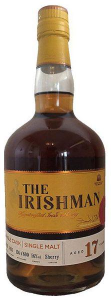 The Irishman 17y - 99-16 - Walsh Distillery Exclusive, Sherry Butt 6931, 600btl - 56%