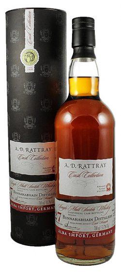 Bunnahabhain 27y 88-15 D. Rattray for Alba Imp. Sherry #629 240btl - 53,7%