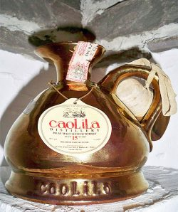 Caol Ila 15y ~1970-85 OB for Zenith/Bonfanti Bulloch Lade Golden decanter (22kt) - 43%
