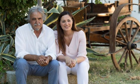 Roberto Ceraudo und Tochter Susy