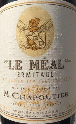 """2013 Ermitage """"Le Méal"""", M. Chapoutier"""