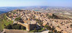 Das Städtchen Montalcino