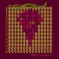Entwurf von Cruciani für den Jahrgang 2012