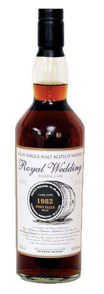 Port Ellen - 82-11 SD Royal Wedding Res. Sherry Hogshead #2290 213btl - 53%