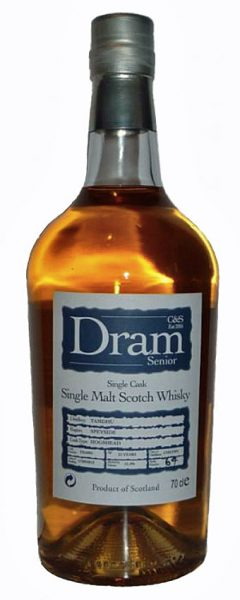 Tamdhu 21y 91-12 C&S Dram Senior Opitz Wine cask finish #TBA002 - 51,4%