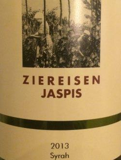 2013 Jaspis Syrah, Weingut Ziereisen