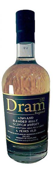 Regional Lowlands 6y - C&S Dram Collection Nr1, 3 casks, 1699btl - 46%
