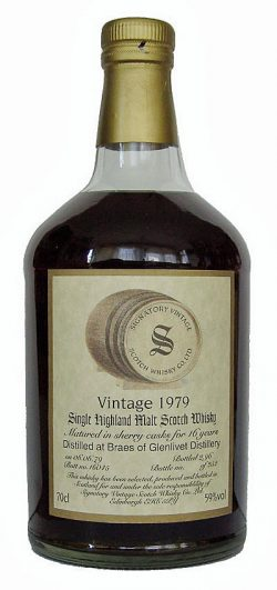 Braeval 16y 79-96 Sig. Vintage Collection Dumpy Sherry Butt #16045 252btl - 59%