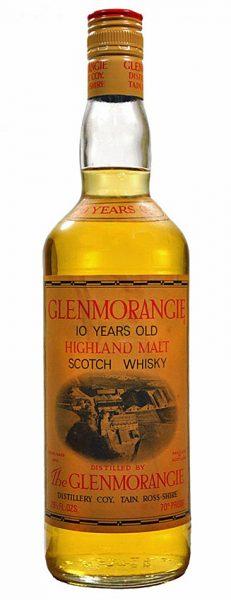 Glenmorangie 10y ~1970 Highland Malt 70°Proof - 26 ²/³ fl.ozs. SC357 1.Ed. - 40%