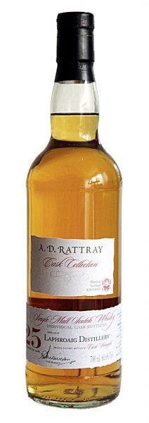 Laphroaig 25y 86-11 A.D.Rattray Bourbon Cask 2123 170btl - 60,6%