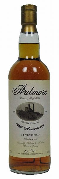 Ardmore 21y 77-99 OB 100th Anniversary for VIP's & guests only - 43%