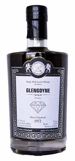 Glengoyne 40y - 72-12 MoS Diamonds cask 12044 254btl - 55,5%