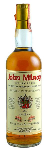 Ardbeg 25y 75-01 John Milroy Selection Single Sherry Butt - 58%