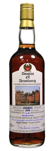Ardbeg 25y 76-01 Douglas Of Drumlanrig for SSMC Sherry #237/48 286btl - 55,5%