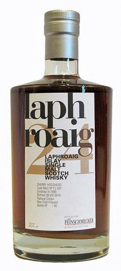 Laphroaig 24y 90-14 MoS for Feinschmecker Sherry #FS007 40btl - 49,2%