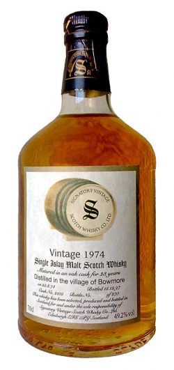 Bowmore 23y 74-97 Sig. Vintage Collection Dumpy Oak #2105 270btl - 49,2%