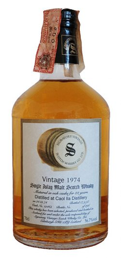Caol Ila 22y 74-97 Sig. Vintage Collection, Dumpy Cask 12465 396btl - 56,7%
