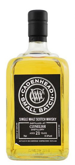 Clynelish 21y 92-14 Cadenhead's Small Batch Bourbon Hogsheads 792btl - 51,6%