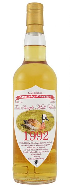 Glen Grant 20y 92-13 Whisky Fässle Duck Edition Bourbon Hogshead - 50,7%