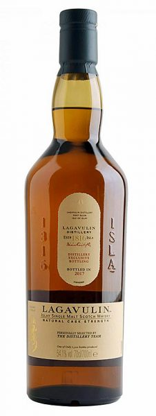 Lagavulin 2017 OB Distillery Exclusive Bottling 7500btl - 54,1%