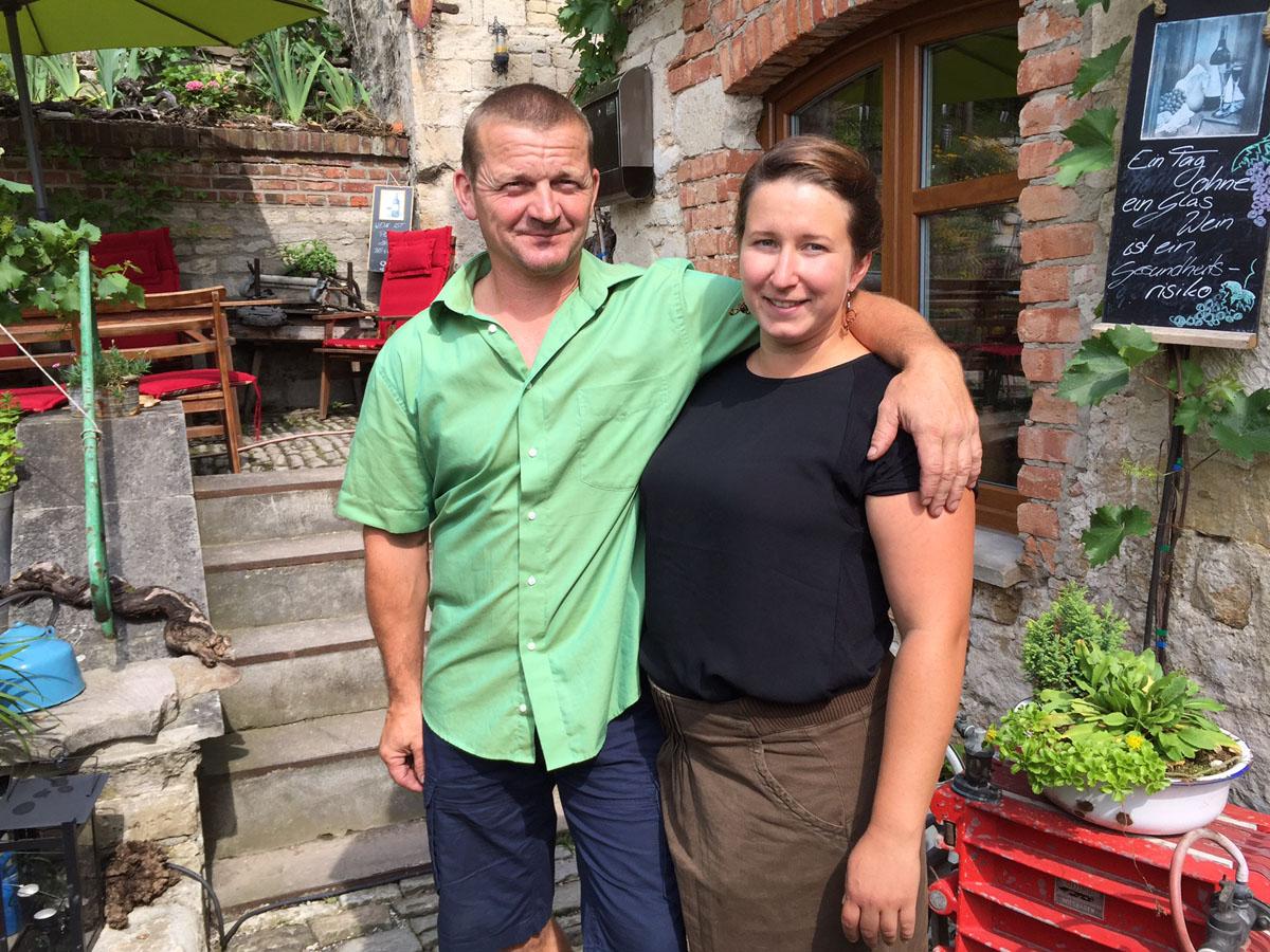 Tino Grober und Stephanie Grober-Feetz