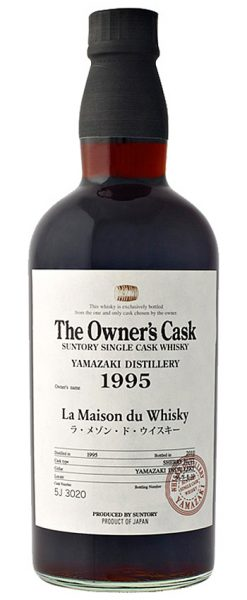 Yamazaki 15y 95-10 OB for LMdW The Owner's Cask Sherry Butt #5J 3020 420btl - 54,9%