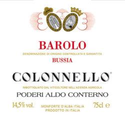 2011 Barolo Bussia Colonello, Aldo Conterno