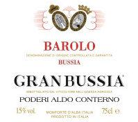 2006 Barolo Riserva Granbussia, Aldo Conterno