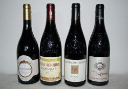 Gigondas-Rotweine