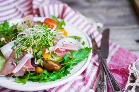 Essen Trinken Salat