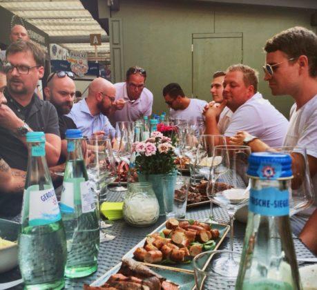 Event in der Weinbar Concept Riesling in Düsseldorf