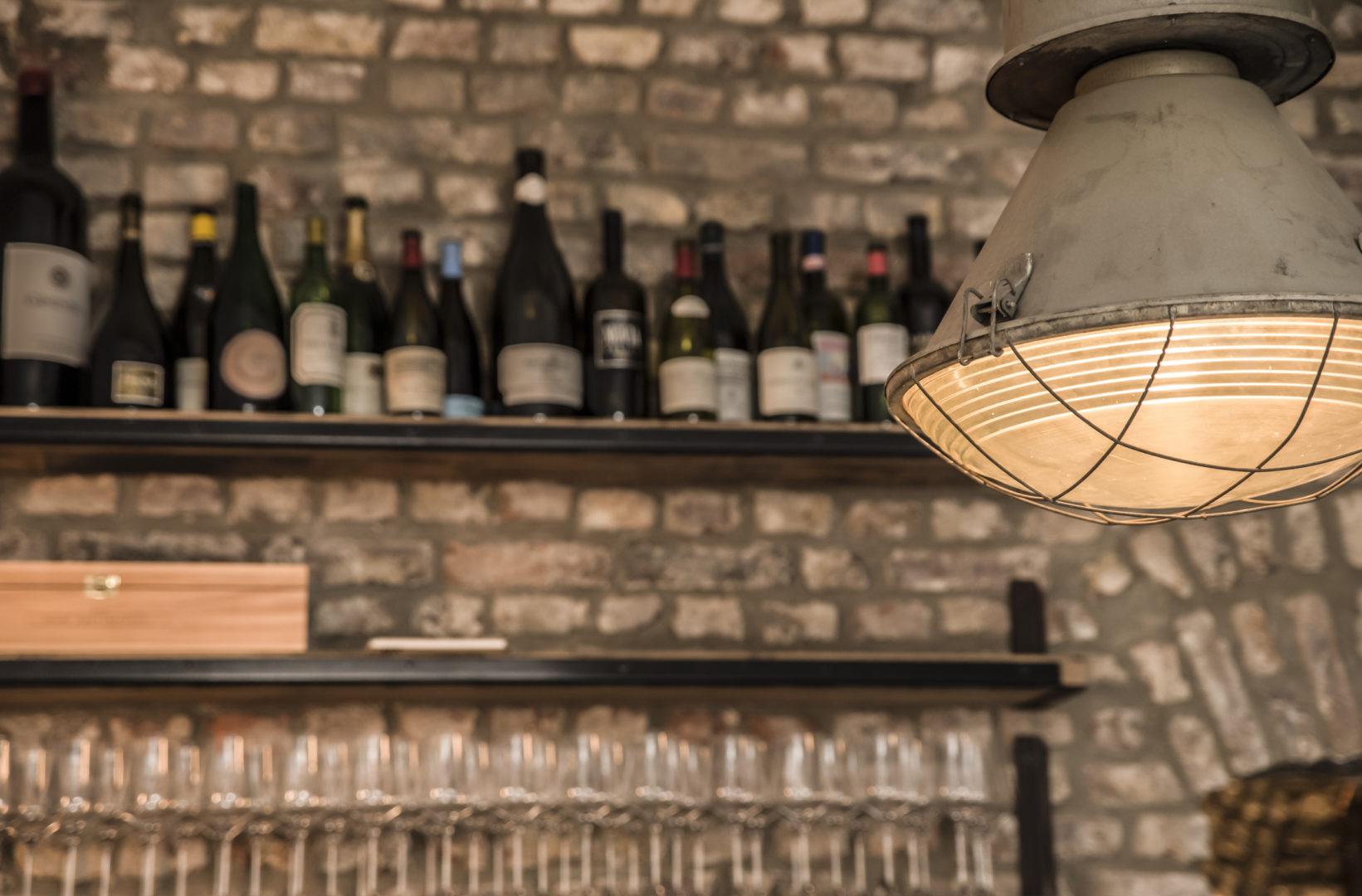Die Weinbar Eiskeller in Düsseldorf von innen