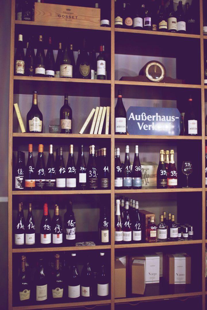 Weinbar im U. das Restaurant