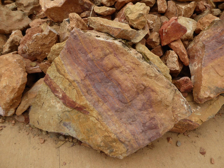 eisenhaltiger Sandstein