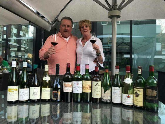 Die Inhaber der Weinbar Marli in Düsseldorf