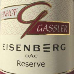 Eisenberg Blaufränkisch Weingut Gassler