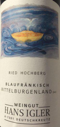 Blaufränkisch Weingut Hans Igler