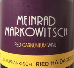 Blaufränkisch Meinrad Markowitsch