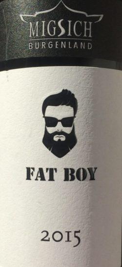 Blaufränkisch Fat Boy Weingut Migsich