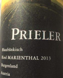 Blaufränkisch Weingut Prieler