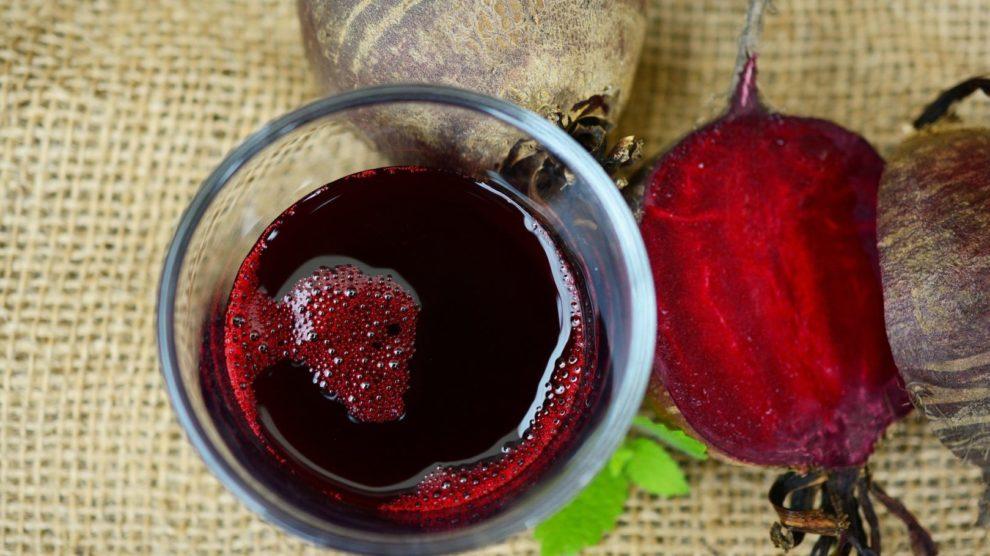 Wein aus Rote Beete