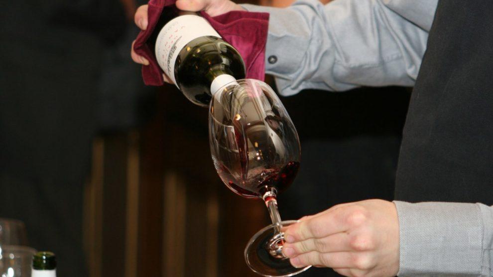 Weinprobe Sommelier