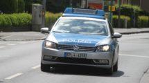 Polizeiauto der Polizei Rheinland-Pfalz